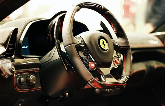 SEO vehicle descriptions for Ferrari
